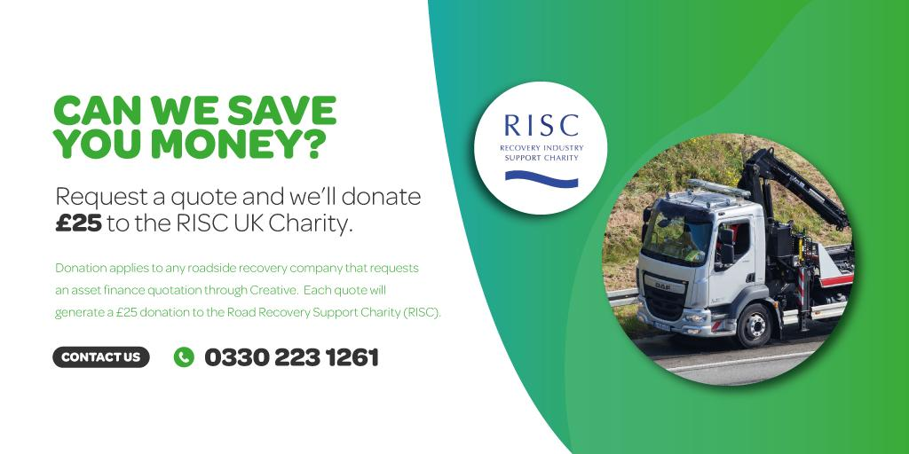 RISC UK Charity promotion